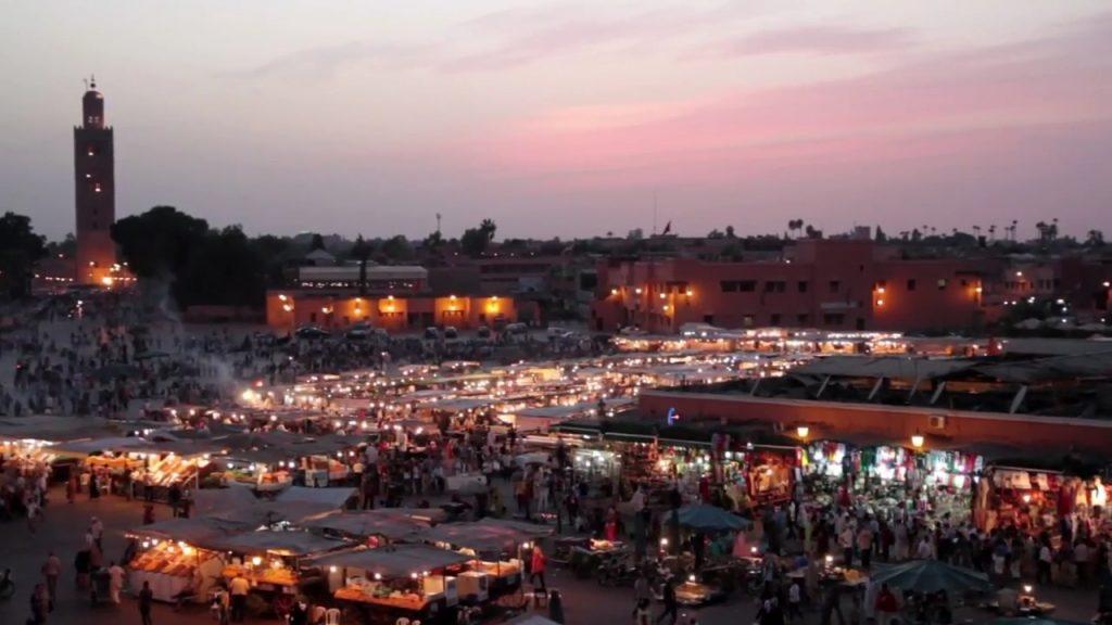 ساحة جامع الفنا مراكش