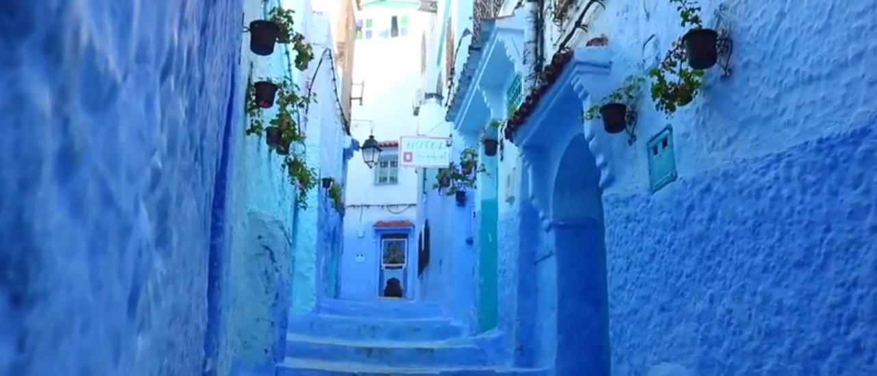 شفشاون المدينة الزرقاء