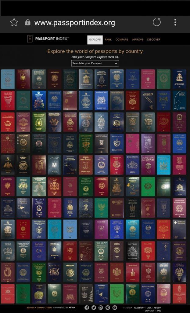 اقوى جواز سفر في العالم